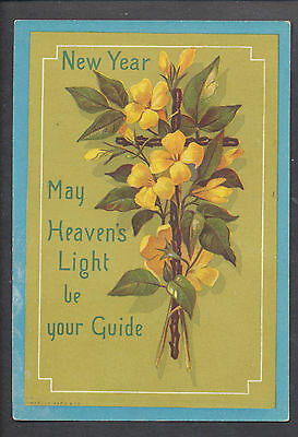 C3201 Victorian Marcus Ward Religious New Year Card