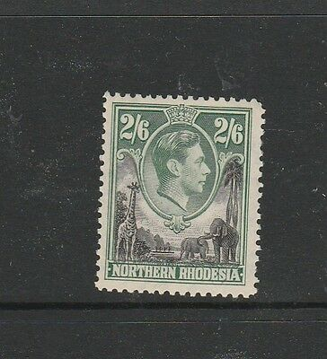 Northern Rhodesia 1938/52 2/6 UM/MNH SG 41, see note