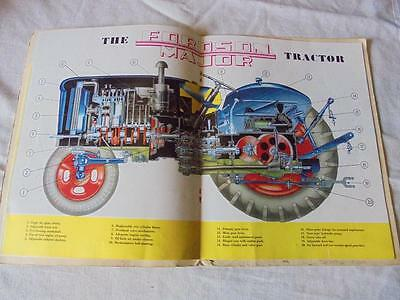 ORIGINAL VINTAGE 1950s FORDSON MAJOR TRACTOR 24 Pg COLOURED SALES BOOKLET