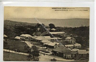 (Ga8651-477) Manderville from Church Tower, Jamaica c1920 VG+