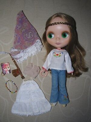 Restored Bohemian Beats EBL Neo Blythe Doll - EXC COND !!