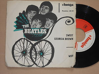 "THE BEATLES -Sweet Georgia Brown / Why- 7"" 45 Amiga DDR"