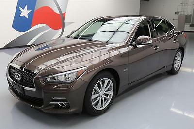 2017 Infiniti Q50  2017 INFINITI Q50 3.0T PREM SUNROOF REAR CAM 22 MILES #742580 Texas Direct Auto
