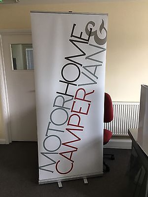 800x2000mm Roller Banner Pull/Roll/Pop-up Exhibition/Display Stand