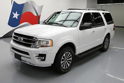 2017 Ford Expedition EL King Ranch Sport Utility 4-Door 2017 FORD EXPEDITION XLT ECOBOOST 8-PASS REAR CAM 15K!! #A19548 Texas Direct