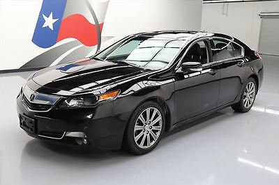 2014 Acura TL Base Sedan 4-Door 2014 ACURA TL SPECIAL EDITION HTD LEATHER SUNROOF 40K #004199 Texas Direct Auto