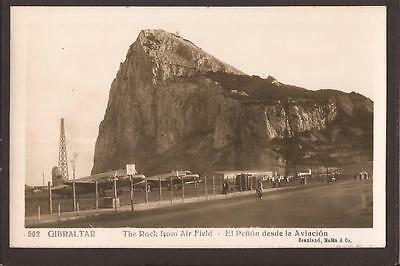 Gibraltar. Aviation. The Rock from Air Field. Airport, Aeroplanes. Smashing RP.