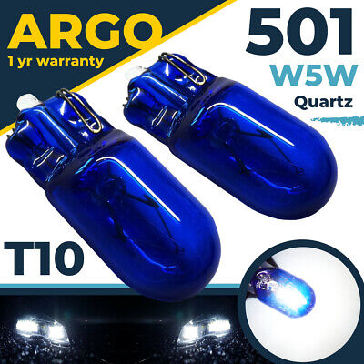 501 T10 W5W 194 Sidelight Bright White Light Xenon Bulbs 12V Side Canbus