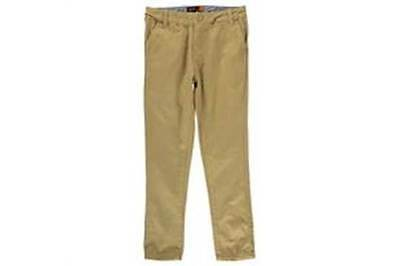 NEW FOR SPRING. Boys BEN SHERMAN Chinos, Beige, Age 8-9 Years