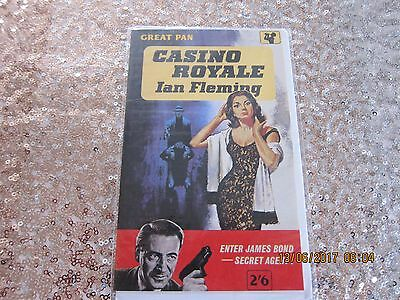James Bond - Collectable 'birthday Card' From 1991 - New- 'casino Royale' Cover.