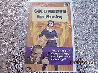 James Bond - Collectable 'birthday Card' From 1991 - New-'goldfinger' Cover.
