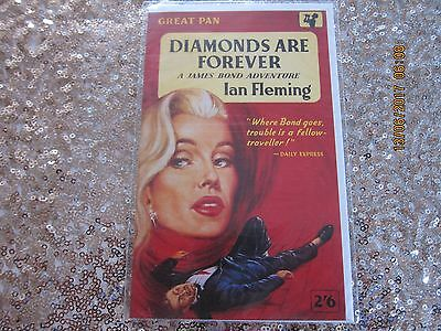 James Bond - Collectable 'birthday Card' From 1991 - New-'diamonds A. F.e.cover.