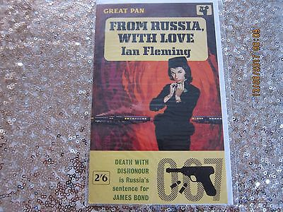 James Bond - Collectable 'birthday Card' From 1991 - New-'from Russia' Cover.