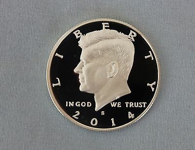 2014-S Kennedy Silver Proof Half Dollar Ultra Deep Cameo!!