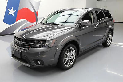 "2015 Dodge Journey R/T Sport Utility 4-Door 2015 DODGE JOURNEY R/T HTD LEATHER 19"" WHEELS 29K MILES #532077 Texas Direct"
