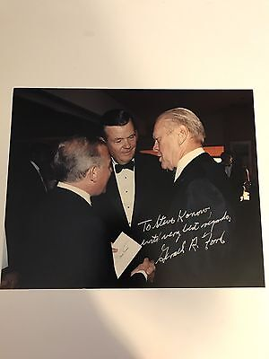President Gerald R. Ford 10x8 Photo Signed - Nicely Inscribed