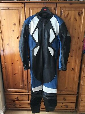 JTS Leather Motorcycle Suit, Size 46, One Piece