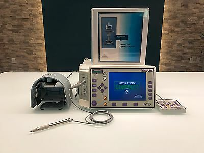 AMO Sovereign Compact Portable Phacoemulsification System w 1 Handpiece & 4.0 SW
