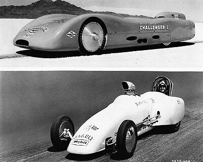 1961 Goodyear Mickey Thompson Challenger Bonneville LS Factory Photo ca7205