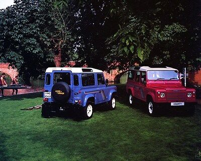 1990 Land Rover County Factory Photo ca7215