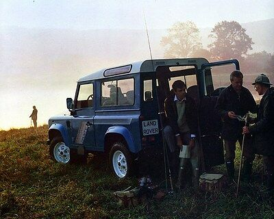 1990 Land Rover County 90 Factory Photo ca7217