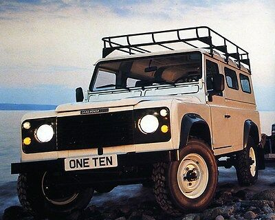 1990 Land Rover 110 Factory Photo ca7222