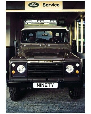 1990 Land Rover 90 Factory Photo ca7223