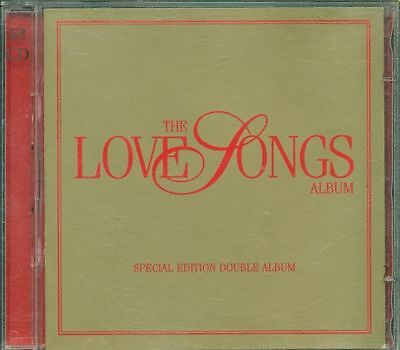 The Love Songs - Springfield/Rod Stewart/Tears For Fears/Moody Blues 2X Cd Vg