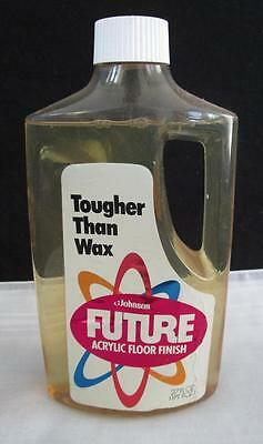 VINTAGE NOS 1970's JOHNSON FUTURE FLOOR FINISH WAX CONTAINER