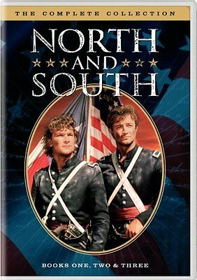 NORTH AND SOUTH COMPLETE COLLECTION 1 2 3 New 5 DVD Set