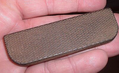 Vintage Antique Pre war Blues Guitar Steel Slide , Real nice old Slide with Mojo