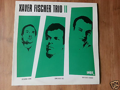 Xaver Fischer Trio - II - German Vinyl LP 2000 - Unique Rec. *MINT-* Acid Jazz