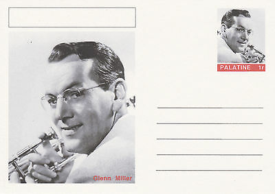 CINDERELLA - 4449 - GLENN MILLER  on Fantasy Postal Stationery card