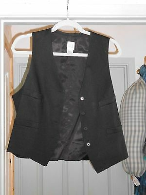 ladies black waistcoat size 16 from GAP