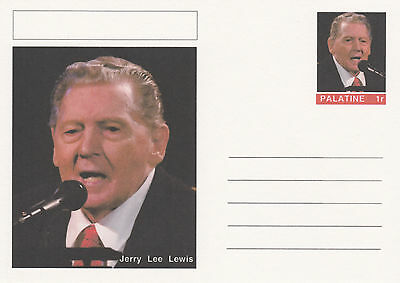 CINDERELLA - 4453 - JERRY LEE LEWIS  on Fantasy Postal Stationery card