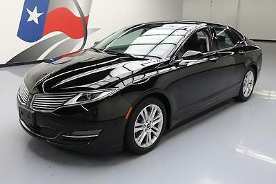 2016 Lincoln MKZ/Zephyr  2016 LINCOLN MKZ ECOBOOST HTD SEATS BLUETOOTH REAR CAM  #629182 Texas Direct