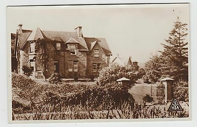 Youth Hostel, Whiting Bay, Arran, in 1950's (Est) Vintage Real Photo PPC, Unused