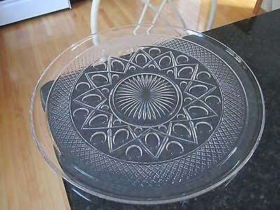 """Imperial Cape Cod Punch Bowl Underplate 17""""     EXCELLENT"""