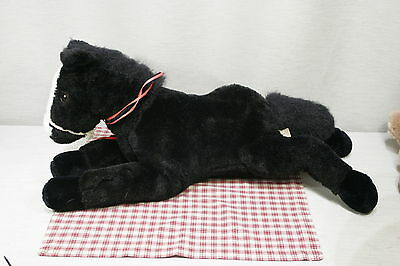 """Ganz Heritage Collection Large Horse / Pony Black with white blaze 26""""  (L16)"""