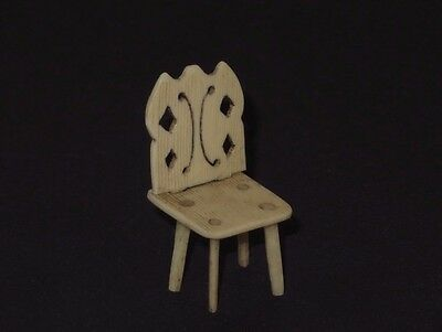 Nice 19Th Century Sailor Made Small Chair