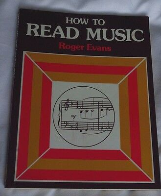 """Book """"How To Read Music"""" by Roger Evans"""
