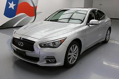 2016 Infiniti Q50 Base Sedan 4-Door 2016 INFINITI Q50 2.0T SEDAN SUNROOF REAR CAM 26K MILES #201099 Texas Direct