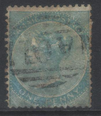 JAMAICA 1860 SG1b USED CAT £12
