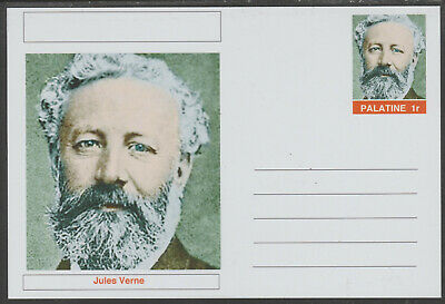 CINDERELLA - 4465 - JULES VERNE on Fantasy Postal Stationery card