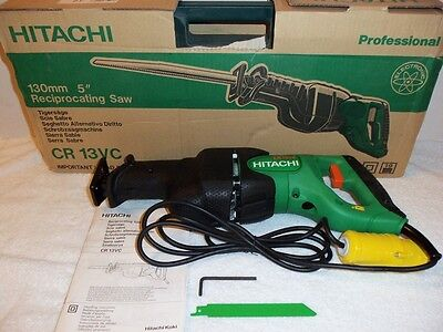 "New Hitachi 5"" Reciprocating Saw 110V NIB CR13VC"