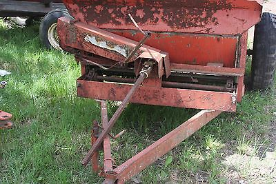 Used Manure Spreader To Restore Or For Parts
