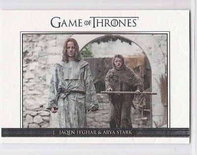 GAME OF THRONES SEASON SIX Relationships CARD DL35