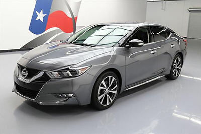 2016 Nissan Maxima  2016 NISSAN MAXIMA 3.5 SL NAV REAR CAM HTD LEATHER 1K #448841 Texas Direct Auto