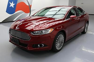 2016 Ford Fusion  2016 FORD FUSION TITANIUM ECOBOOST HTD LEATHER 21K MI #308819 Texas Direct Auto