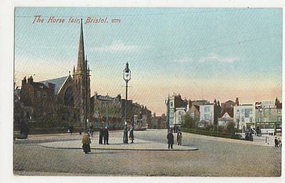 Bristol, The Horse Fair Postcard #3, B143